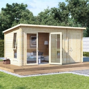 BillyOh Tianna Summerhouse with Side Store